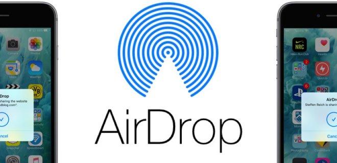 AirDrop'ta iOS Hatası İle Karşılaşıldı!
